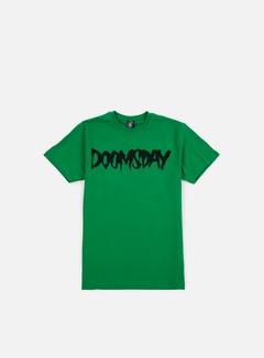 Doomsday - Logo T-shirt, Green/Black 1