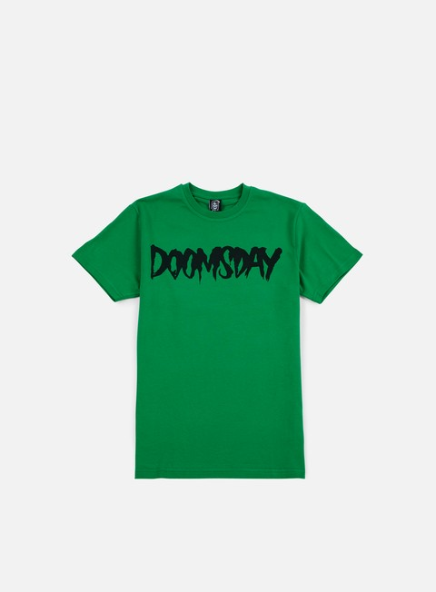 t shirt doomsday logo t shirt green black