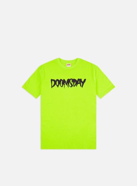 T-shirt a Manica Corta Doomsday Logo T-shirt