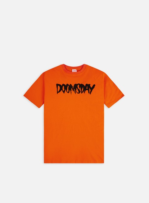 Short Sleeve T-shirts Doomsday Logo T-shirt