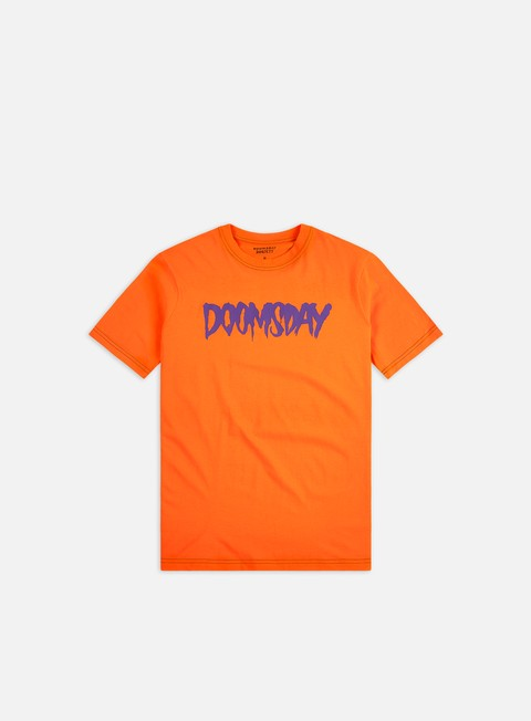 Short Sleeve T-shirts Doomsday Logo T-shirt