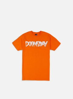 Doomsday - Logo T-shirt, Orange/White