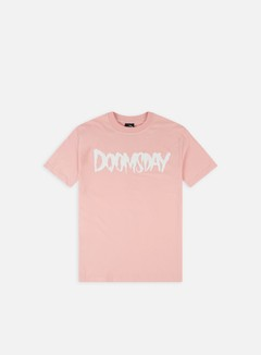 Doomsday - Logo T-shirt, Pink/White