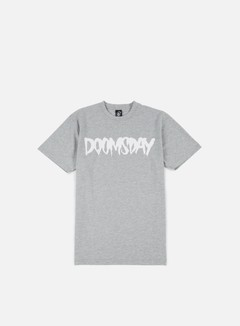 Doomsday - Logo T-shirt, Sport Grey/White