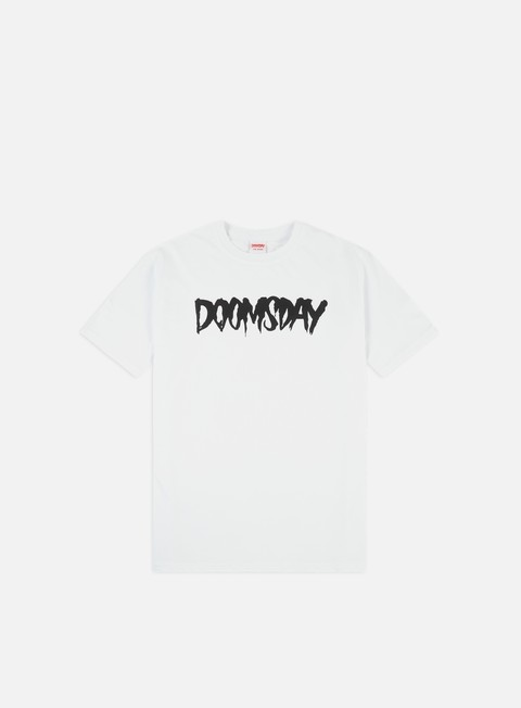 t shirt doomsday logo t shirt white black