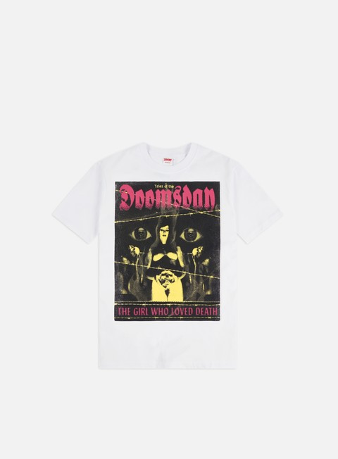 Outlet e Saldi T-shirt a Manica Corta Doomsday Love Death T-shirt