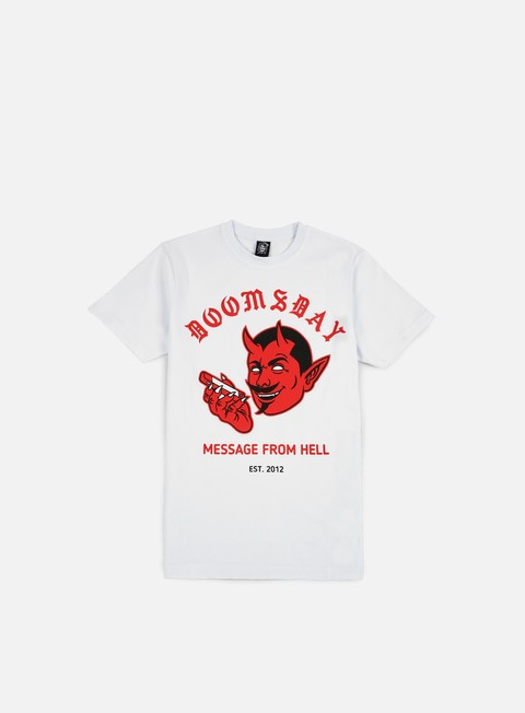 T-shirt a Manica Corta Doomsday Message From Hell T-shirt