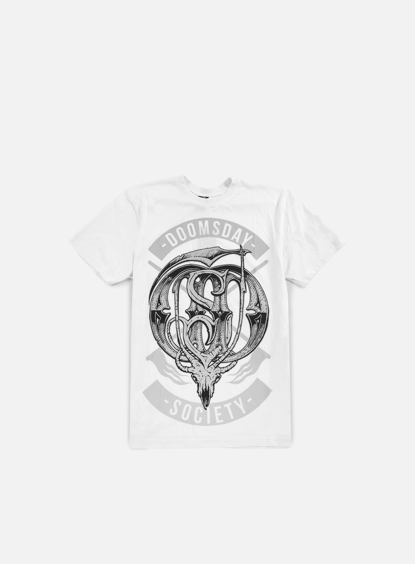 Doomsday - Monogram T-shirt, White