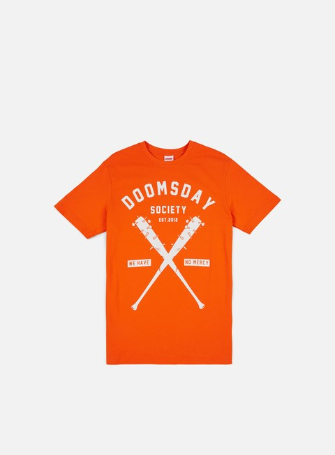 t shirt doomsday no mercy t shirt orange