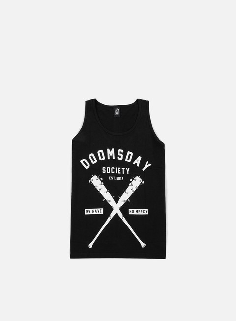 t shirt doomsday no mercy tank top black