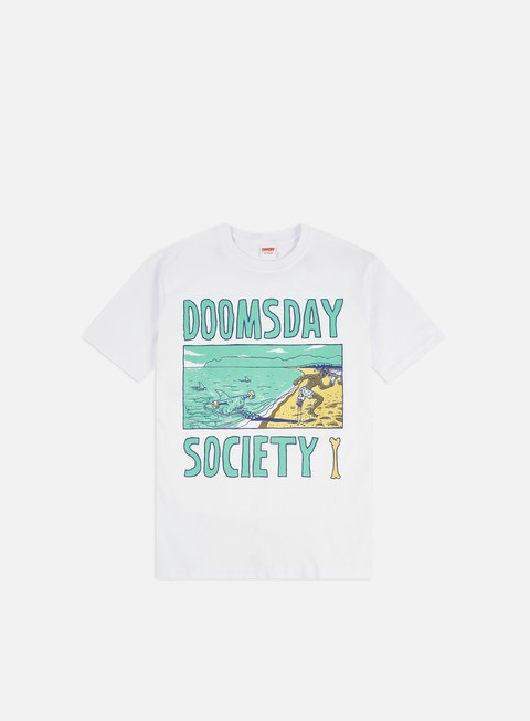 Outlet e Saldi T-shirt a Manica Corta Doomsday One Leg T-shirt