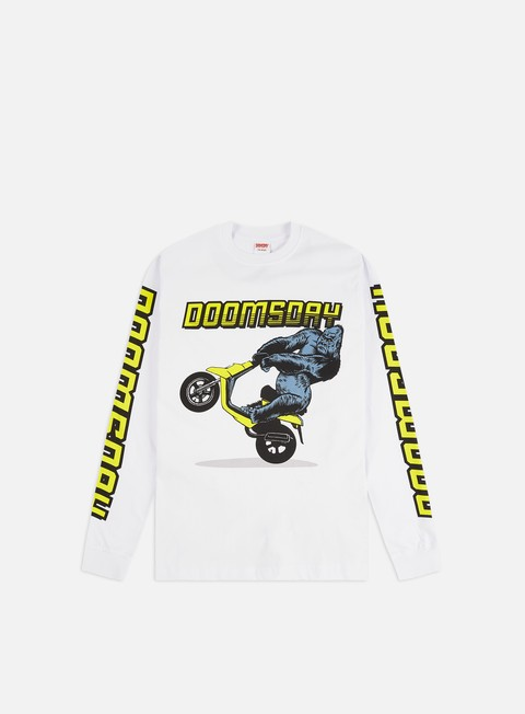 Outlet e Saldi T-shirt a Manica Lunga Doomsday One Wheel LS T-shirt