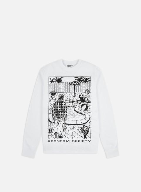 Outlet e Saldi T-shirt a Manica Lunga Doomsday Party Crasher LS T-shirt