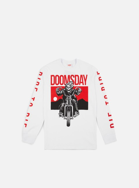t shirt doomsday ride to die ls t shirt white