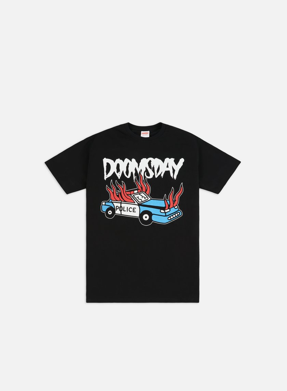Doomsday - Riot T-shirt, Black