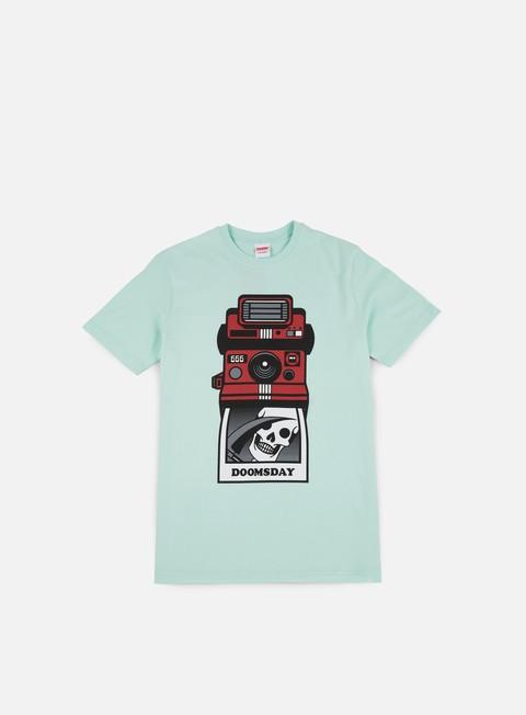 T-shirt a Manica Corta Doomsday Selfie T-shirt