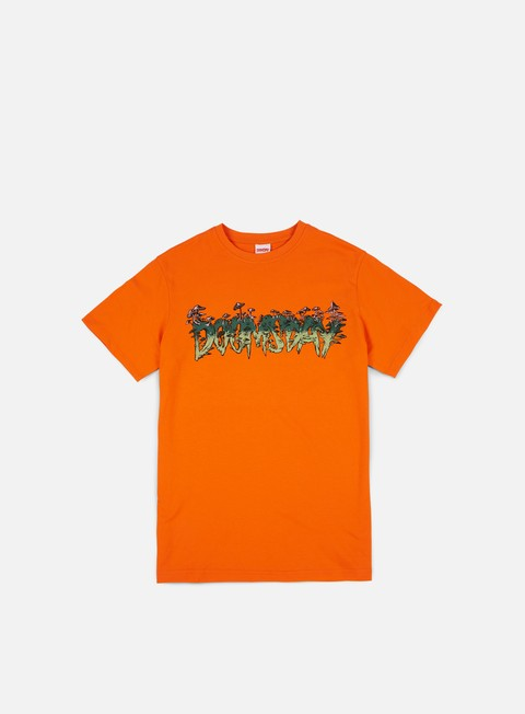 t shirt doomsday shroomz t shirt orange