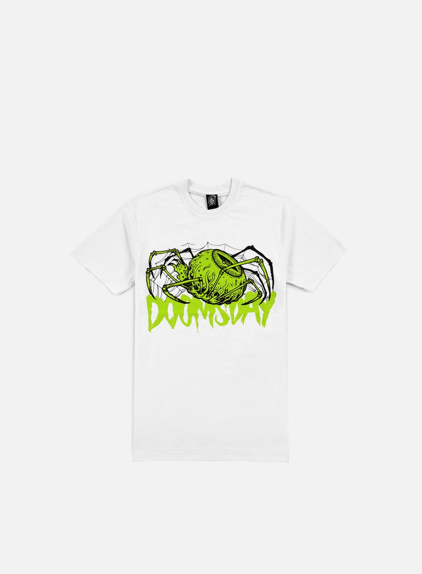 Doomsday - Spider Eye T-shirt, White