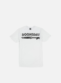 Doomsday - Switchblade T-shirt, White 1