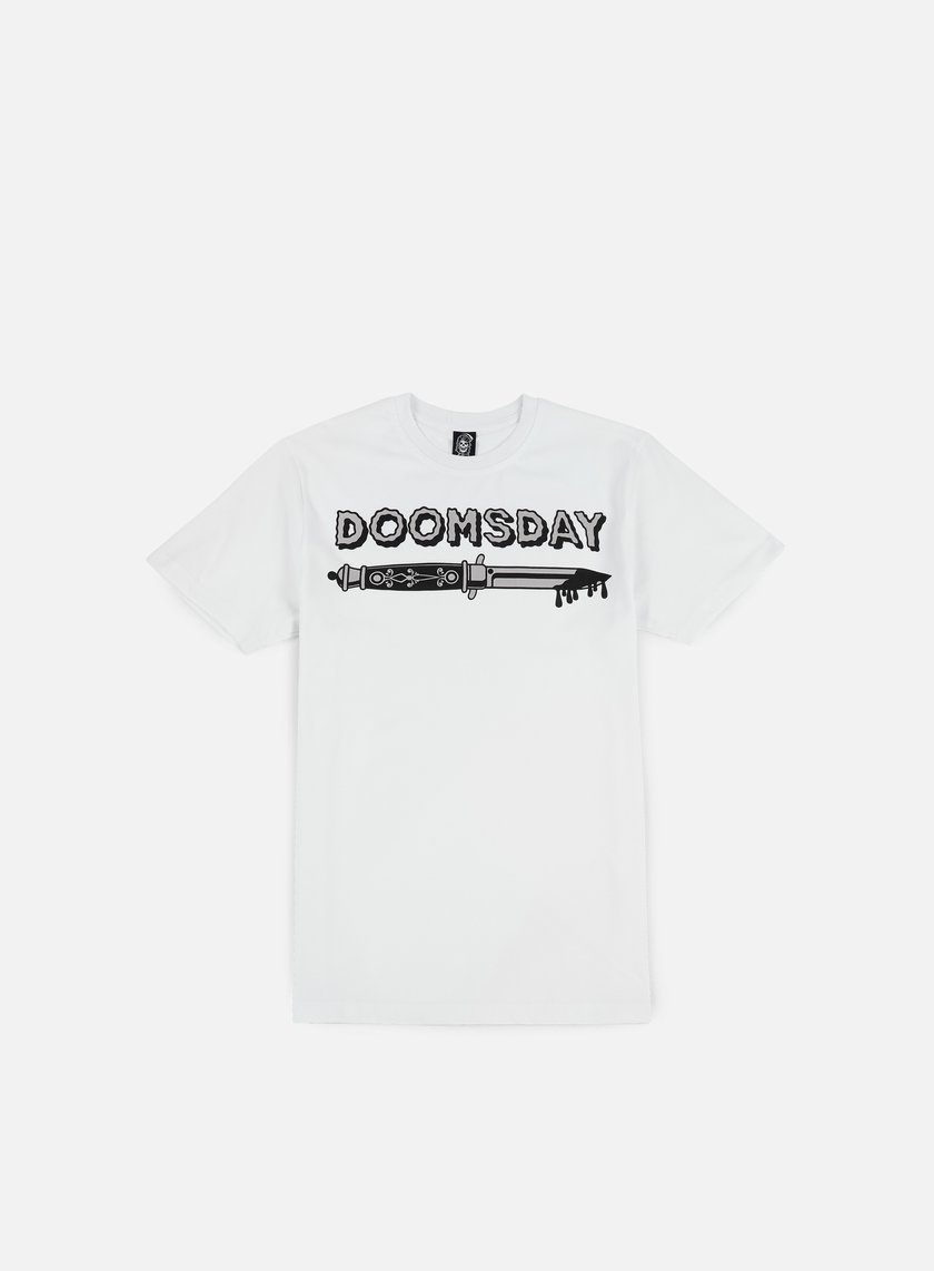 Doomsday - Switchblade T-shirt, White
