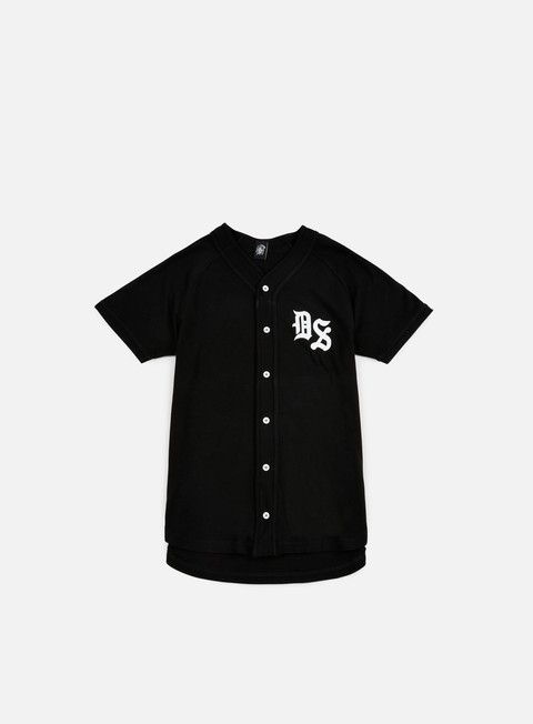t shirt doomsday times baseball jersey black