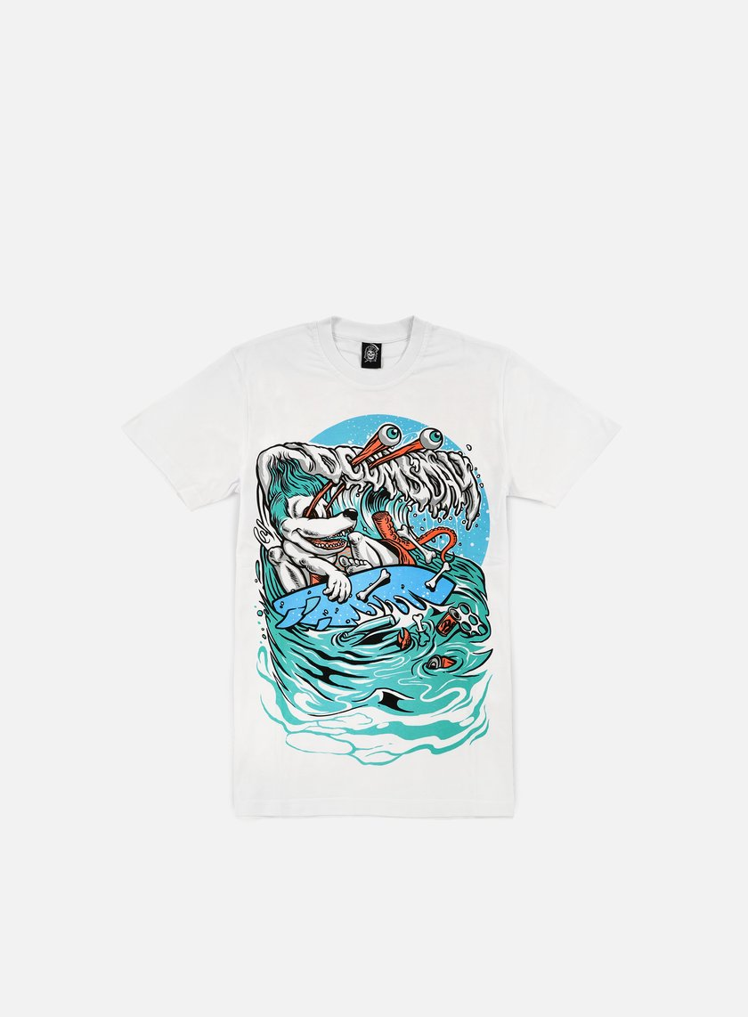 Doomsday - Trash Surfer T-shirt, White