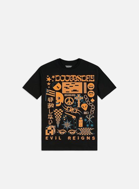 T-shirt a Manica Corta Doomsday Trippy T-shirt