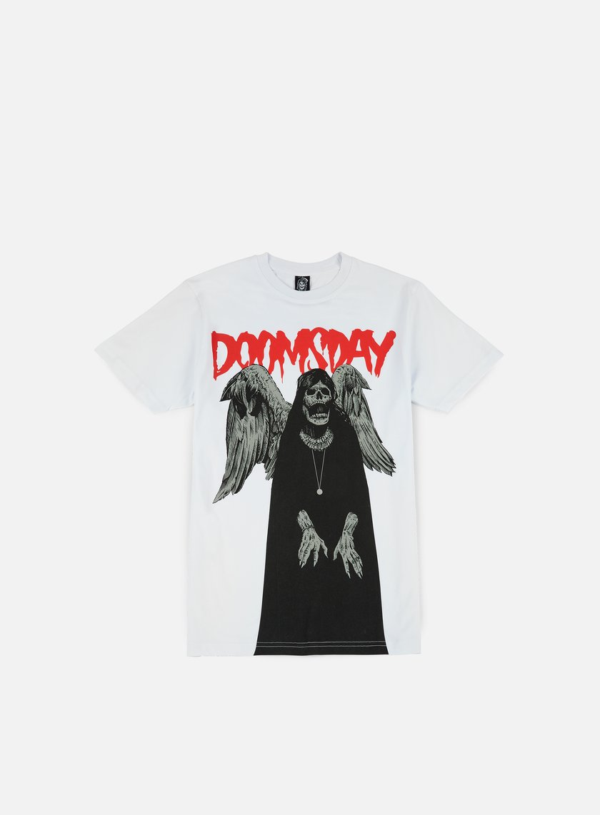 Doomsday - Ugly Witch T-shirt, White