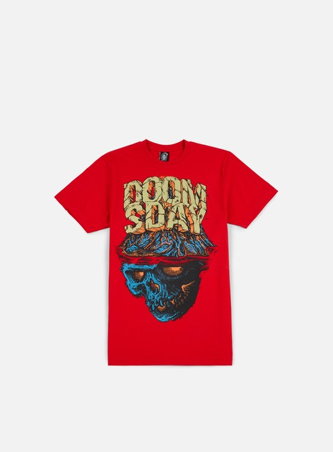 t shirt doomsday volcano t shirt red