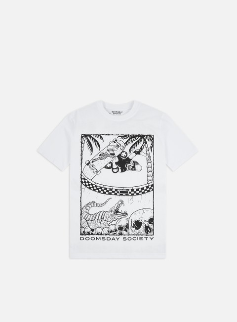 Outlet e Saldi T-shirt a Manica Corta Doomsday Wild Slide T-shirt