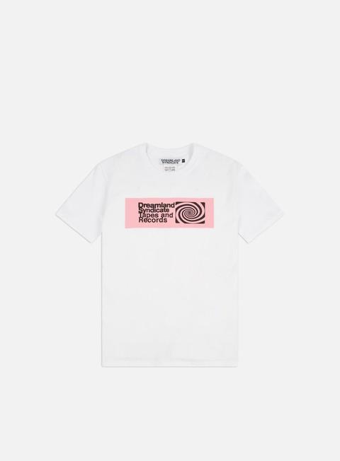 Short Sleeve T-shirts Dreamland Syndicate DSTR Spiral T-shirt