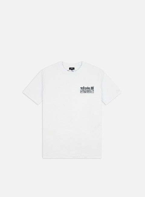 Outlet e Saldi T-shirt a Manica Corta Edwin Hokusai Noh Masks T-shirt