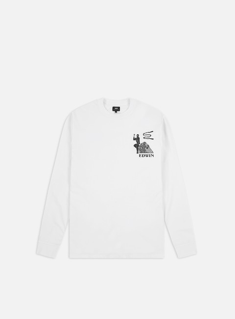 T-shirt a manica lunga Edwin Shinobi LS T-shirt