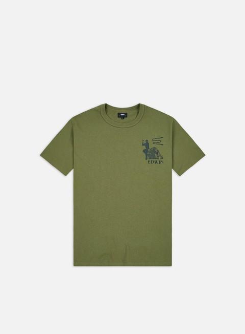 T-shirt a Manica Corta Edwin Shinobi T-shirt
