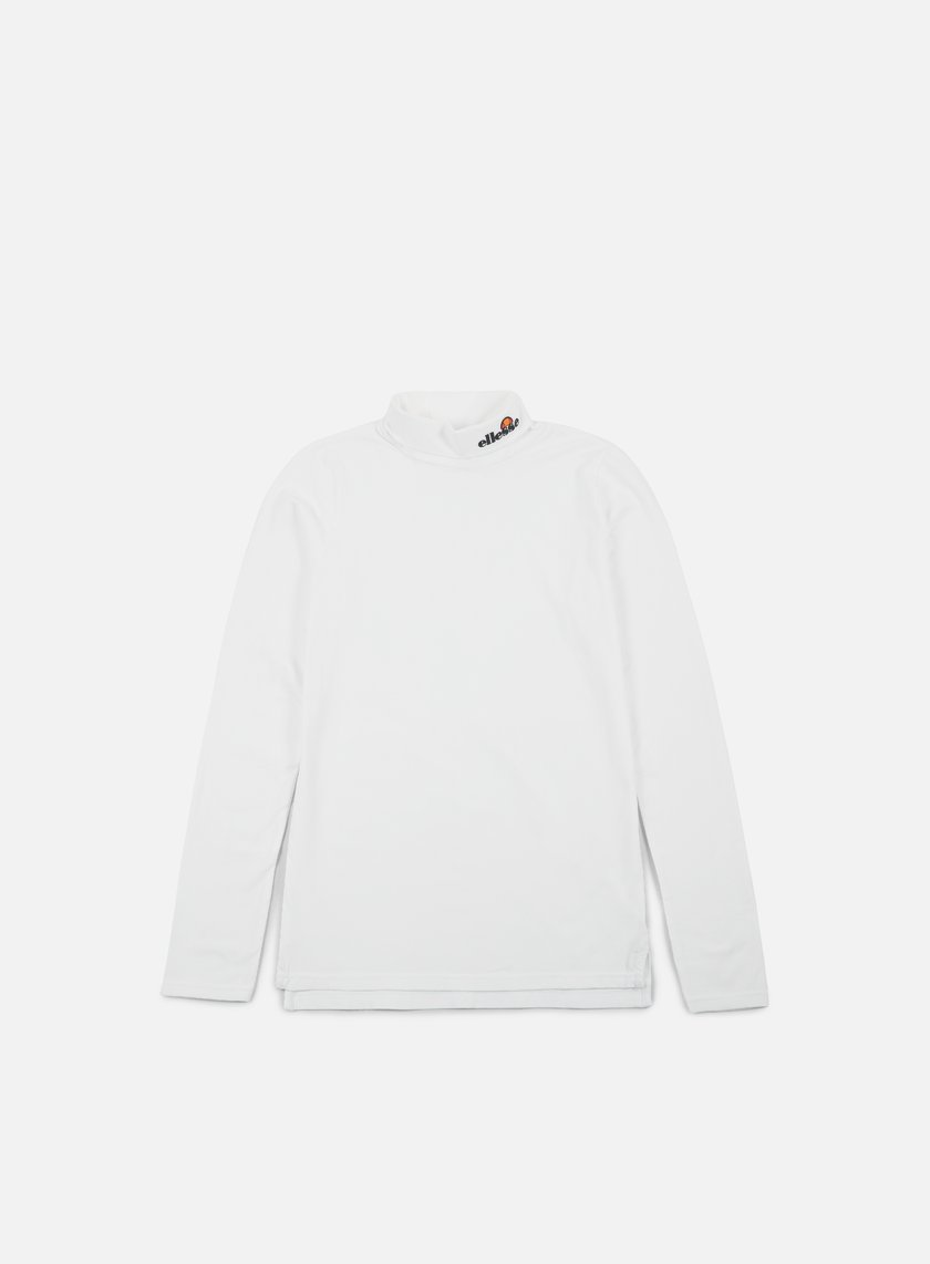 Ellesse - Amico Roll Neck LS T-Shirt, Optic White