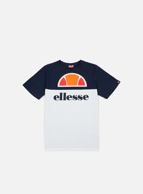 t shirt ellesse arbataz t shirt dress blue optic white