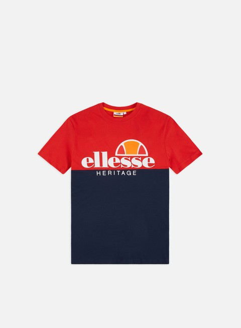 Outlet e Saldi T-shirt a Manica Corta Ellesse Color Block T-shirt