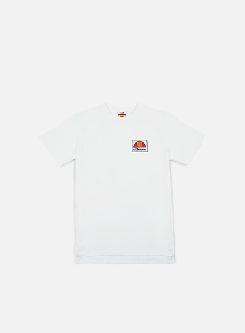 t shirt ellesse magoni t shirt optic white