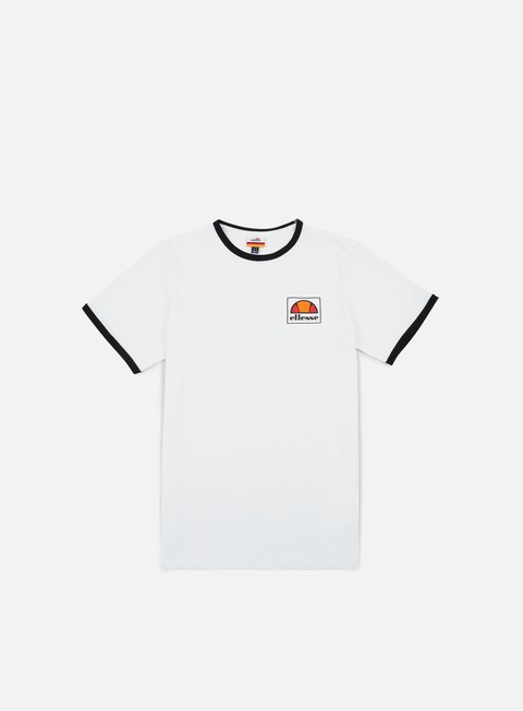 t shirt ellesse montefello t shirt optic white