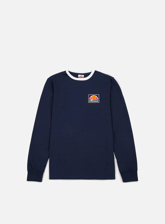 Ellesse - Ortler LS T-shirt, Dress Blue