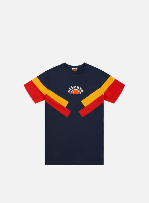 t shirt ellesse terria t shirt dress blues