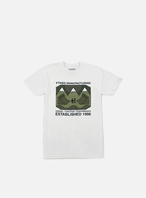 t shirt etnies eternal landscape t shirt white