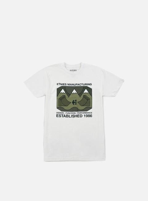 Outlet e Saldi T-shirt a Manica Corta Etnies Eternal Landscape T-shirt