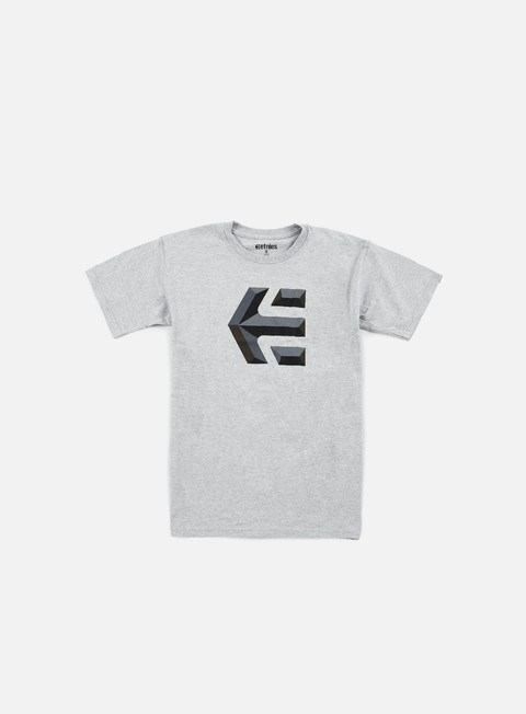 t shirt etnies mod icon t shirt heather grey