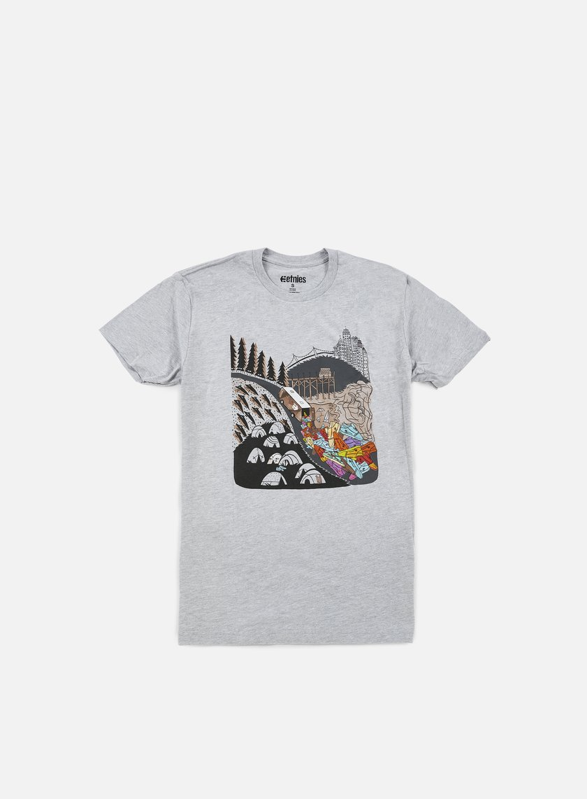 Etnies - Scout It Out T-shirt, Heather Grey