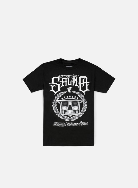 Outlet e Saldi T-shirt a Manica Corta Famous Salmo LAC T-shirt