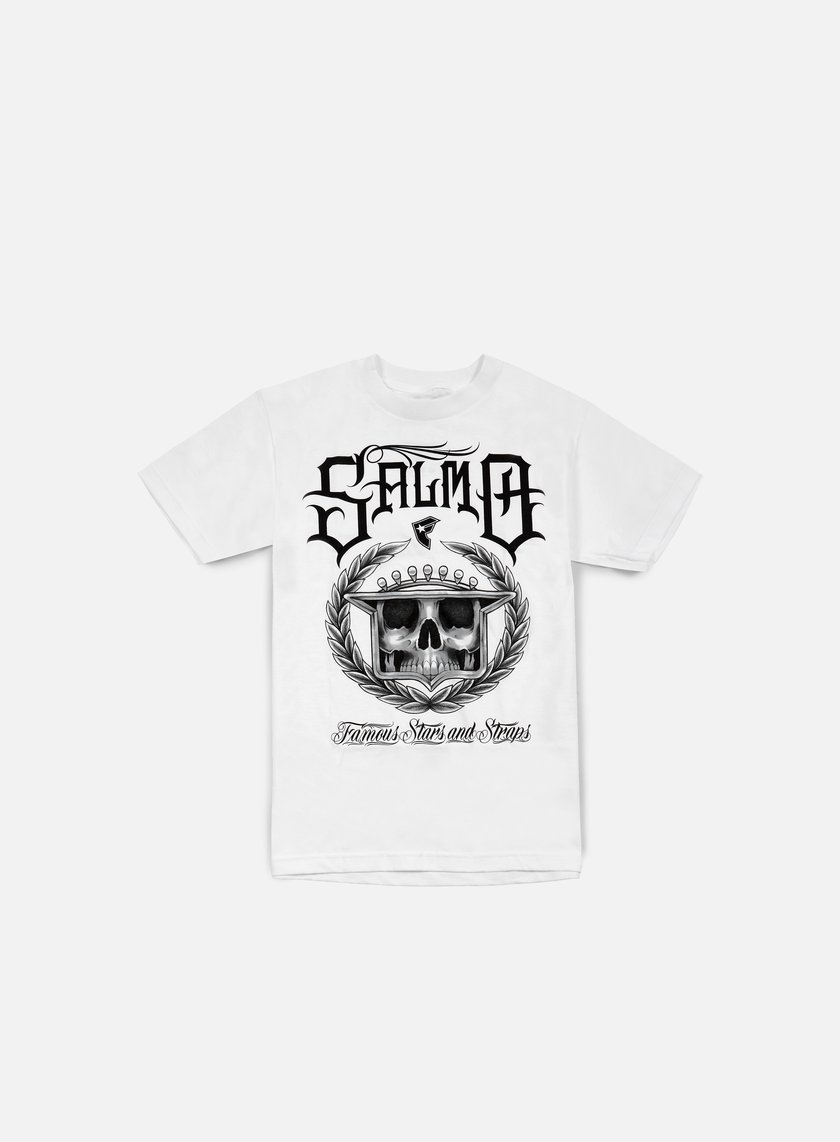 Famous - Salmo LAC T-shirt, White