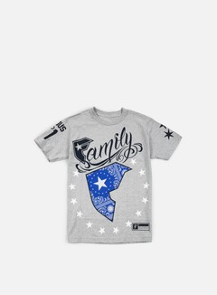 Famous - Wild Patriot T-shirt, Heather Grey