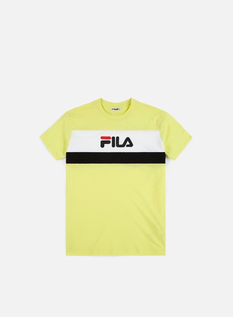 t shirt fila aaron t shirt canary yellow