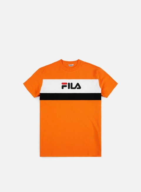 t shirt fila aaron t shirt persimmon orange